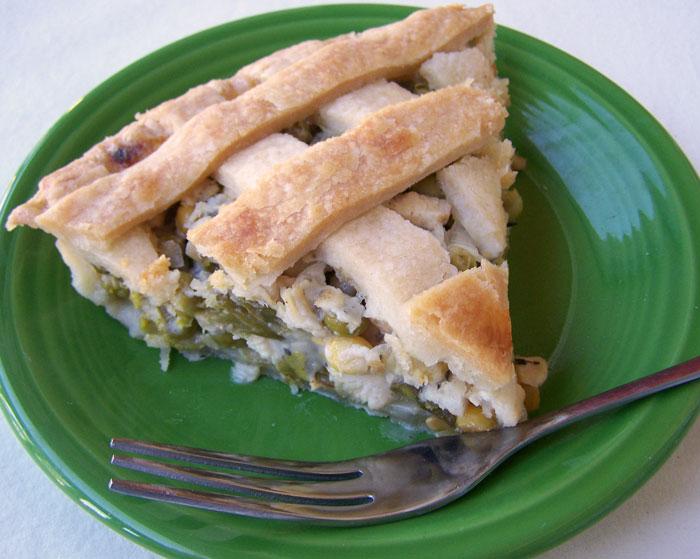 Chicken Dinner Pie
