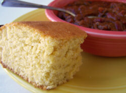 Easy Chili with Honey Cornbread