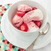 Strawberries and Cream Frozen Yogurt