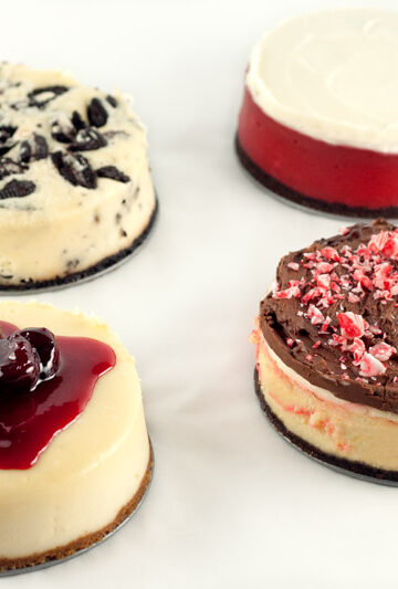 Mini Holiday Cheesecakes