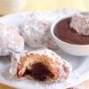 Chocolate-filled Beignet