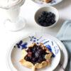 Blueberry-Rhubarb Tart